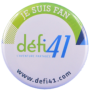 Badge Défi41